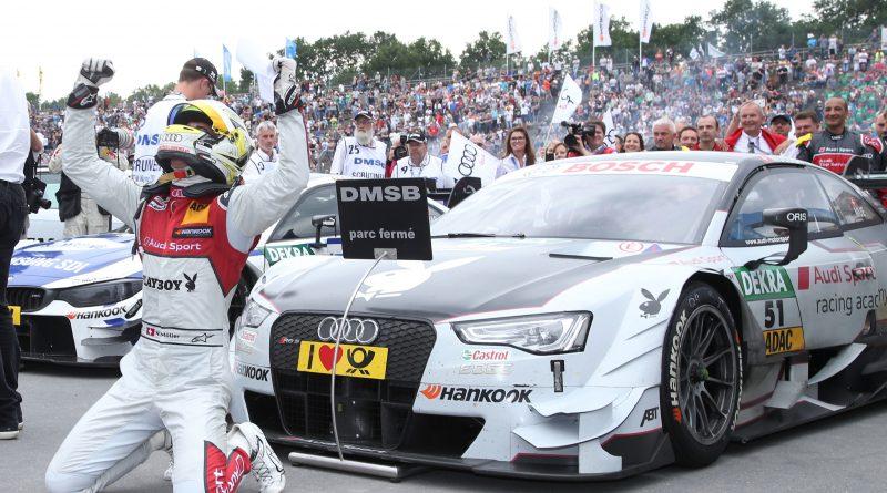 El Audi RS 5 DTM listo para recorrer las calles de Nuremberg