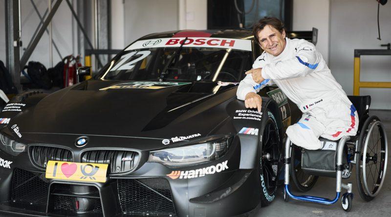 Alessandro Zanardi habla de su próxima carrera en el DTM
