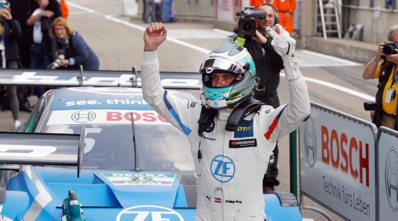 Philipp Eng logra su primera victoria en el DTM