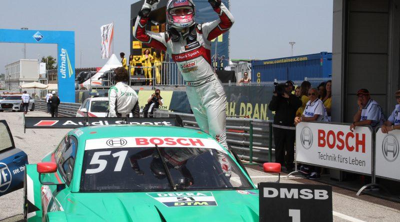 Nico Müller logra su segunda victoria en el DTM