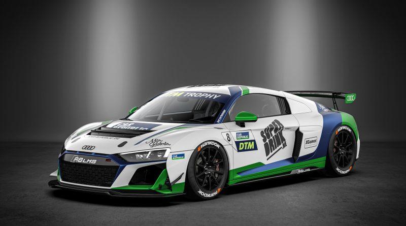 Superdrink y Car Republic correrán el DTM Trophy con dos Audi R8 LMS